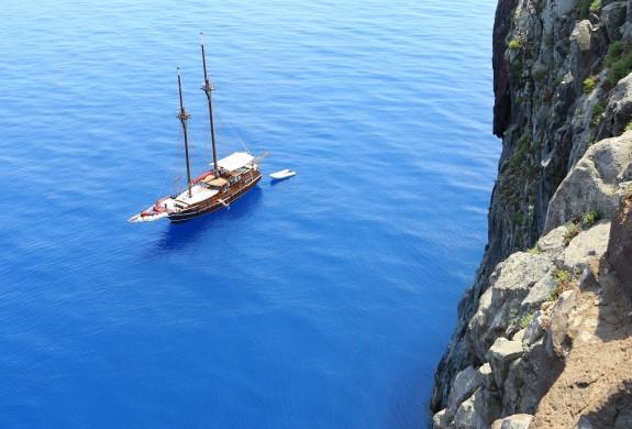 Croisière aux Iles Eoliennes - à bord du Santa Barbara