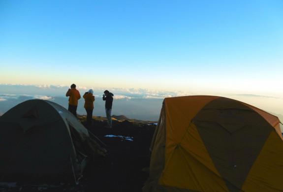 Etna, bivouac