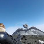 Nouveau cratère du sud est Etna
