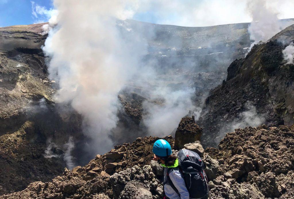 Randonnée sur les cratères sommitaux de l'Etna