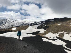 Etna Nord sous les premières neiges