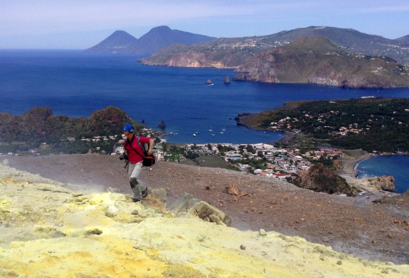 Foto trekking vulcani Isole Eolie