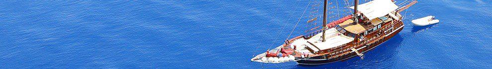 Foto goletta in mare